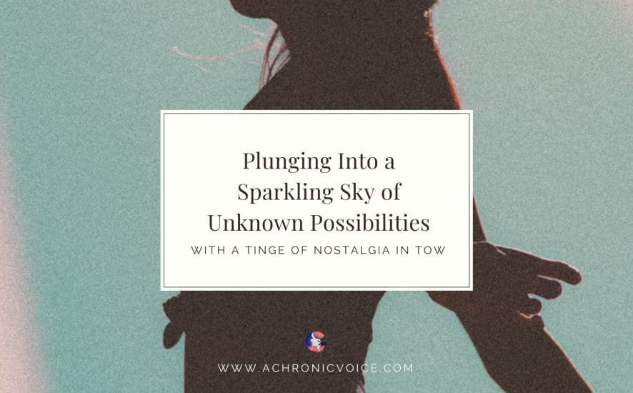 Plunging Into a Sparkling Sky of Unknown Possibilities