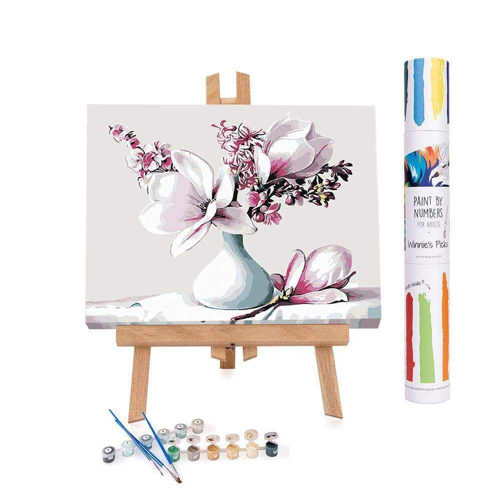 Winnie's Picks: Pain by Numbers: Beautiful Magnolia Flowers   A Chronic Voice Christmas Giveaway