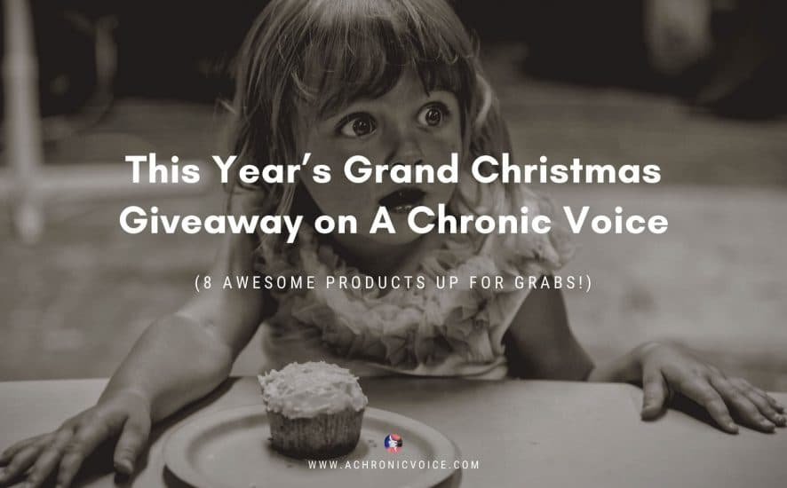 This Year's Grand Christmas Giveaway on A Chronic Voice (8 Awesome Products Up for Grabs!) | A Chronic Voice