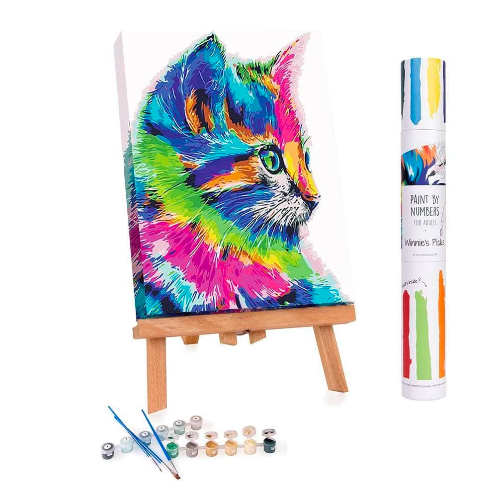 1 Winnie's Picks: Paint by Numbers | Pinterest Image