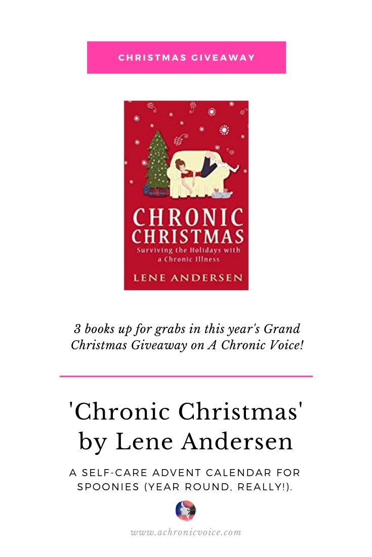 'Chronic Christmas' by Lene Andersen Up for Grabs in the Grand Christmas Giveaway on A Chronic Voice. | Pinterest Image