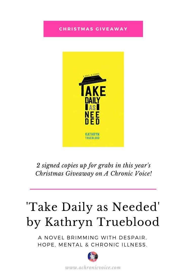 'Take Daily as Needed' by Kathryn Trueblood | Pinterest Image