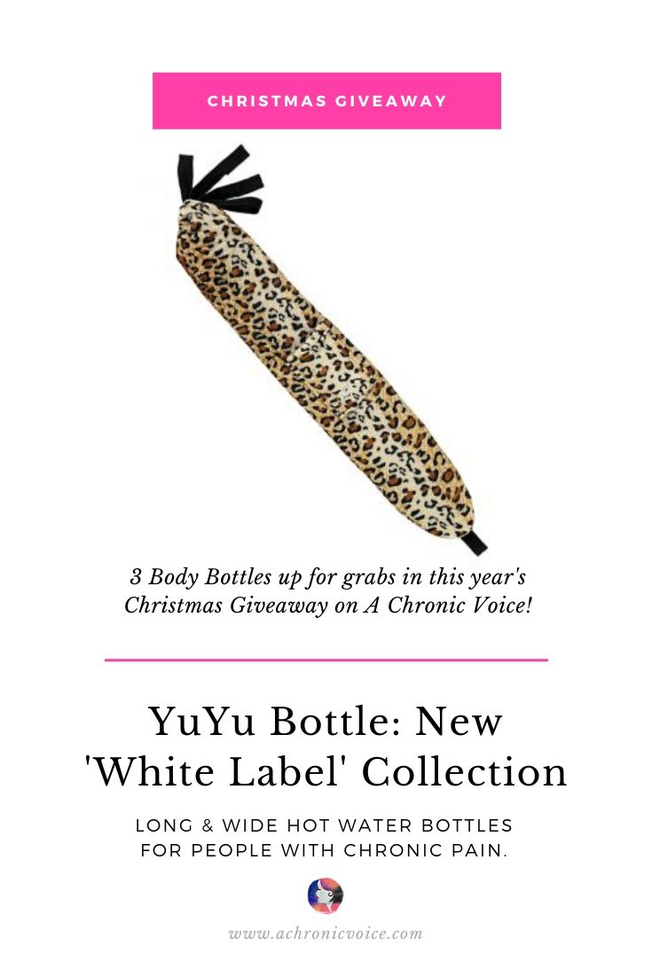 3 YuYu Bottles from the New White Label Collection Up for Grabs in the Grand Christmas Giveaway on A Chronic Voice. | Pinterest Image