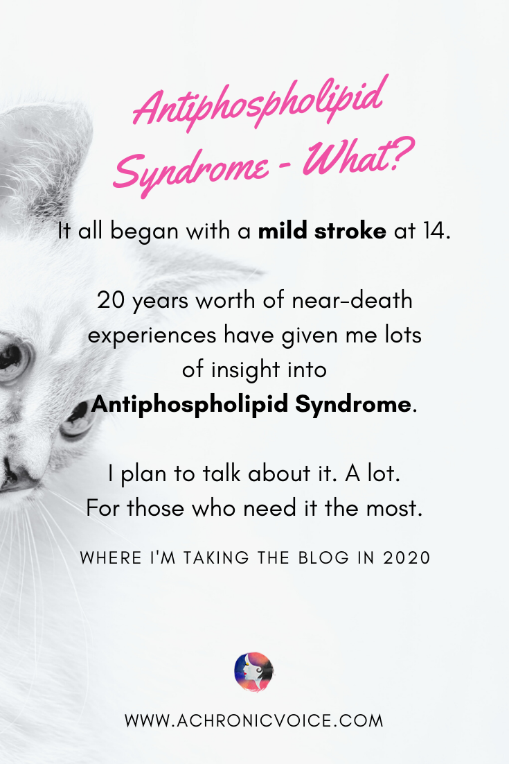 Antiphospholid Syndrome Awareness from a Patient's 20 Years of Near-Death Experiences