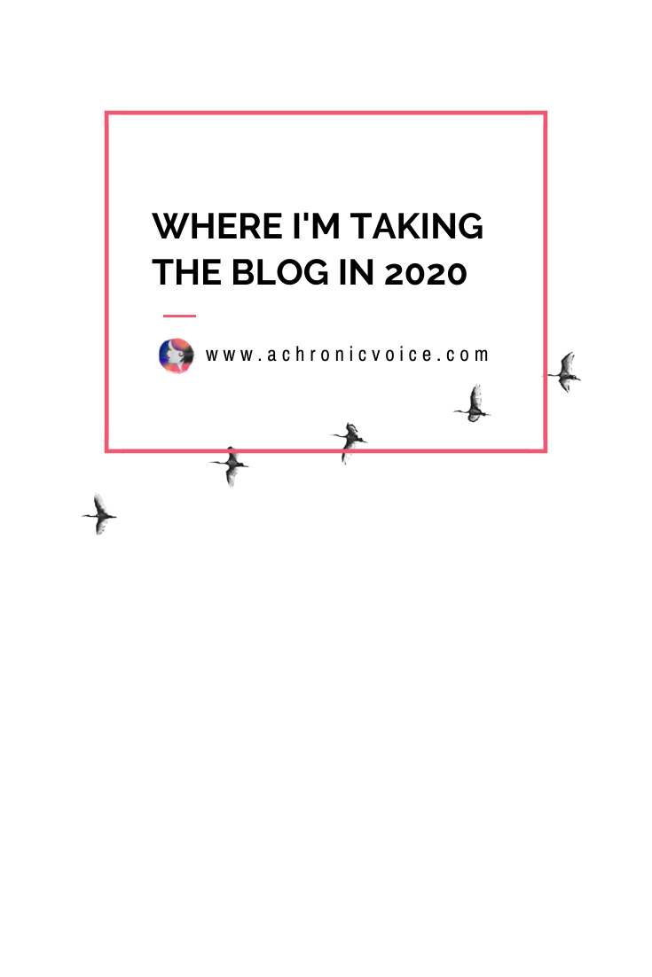 Where I'm Taking the Blog in 2020