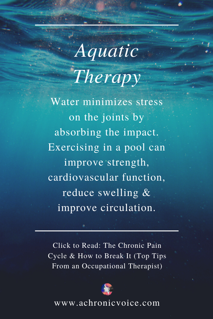 Aquatic or Water-Based Therapy