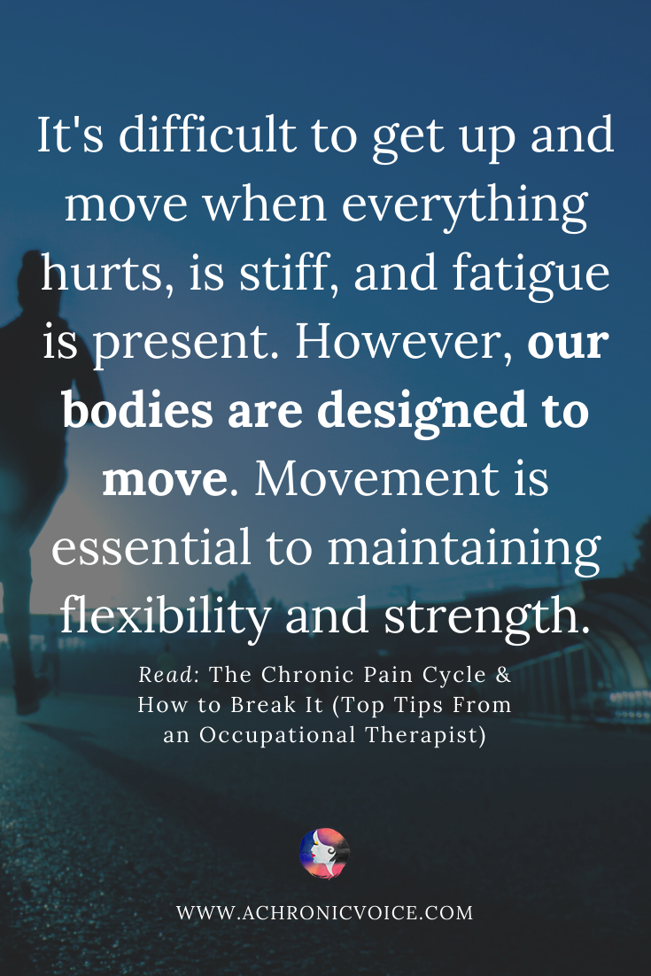 Our Bodies are Designed to Move