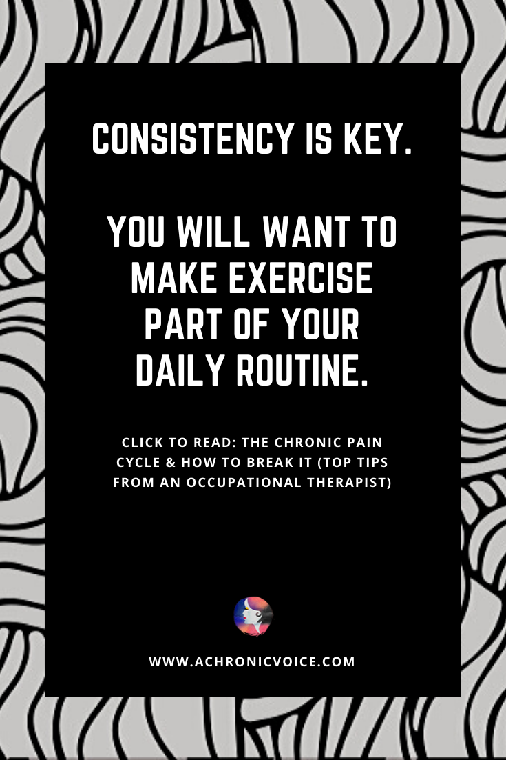 Make Exercise Part of Your Daily Routine Through Consistency