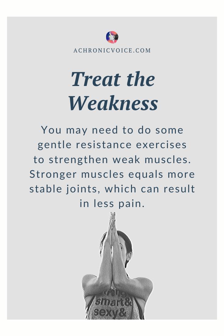 Gentle Resistance Exercises Helps to Strengthen Weak Muscles