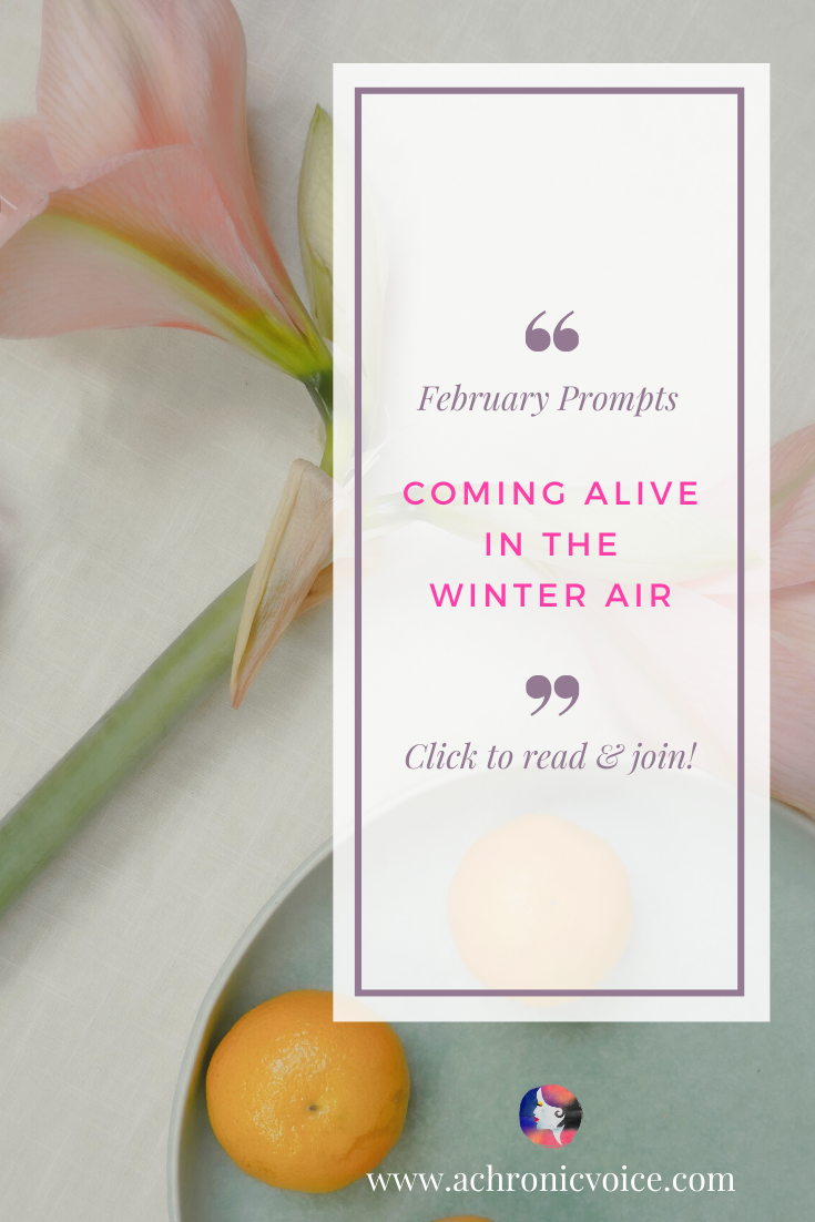 Coming Alive in the Winter Air (Pushing for Personal Changes & Group Advocacy)