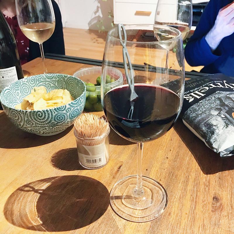 Board game and wine night #wine #drinkpurewine #chronicillness