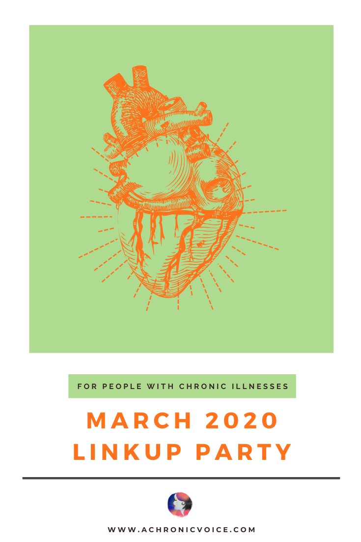 March 2020 Linkup Party for People with Chronic Illnesses | A Chronic Voice