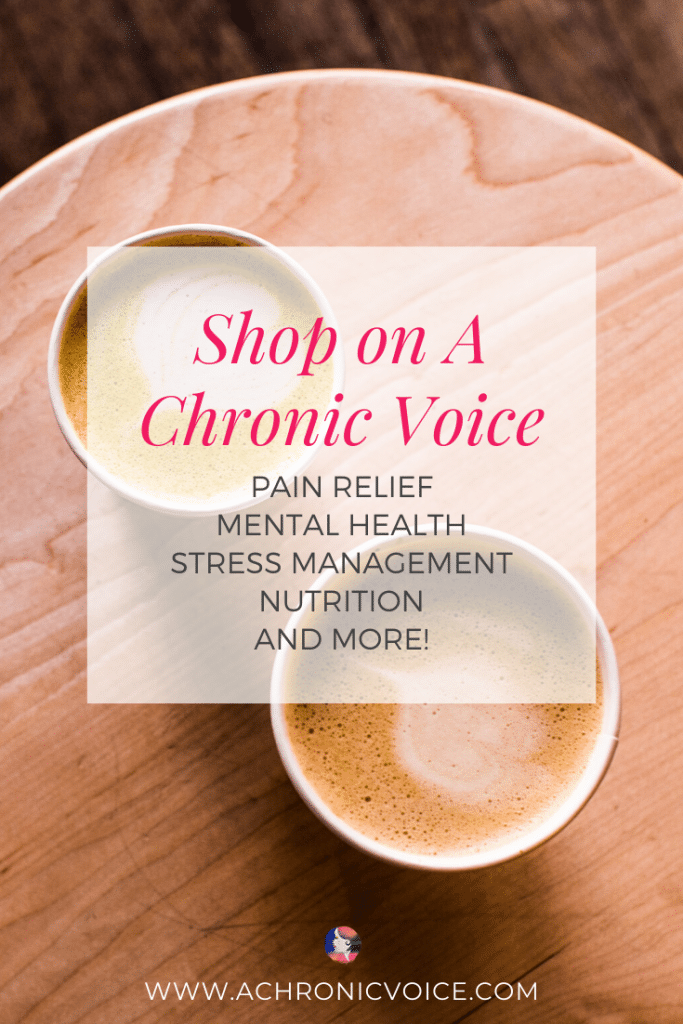 Shop recommended products and services for chronic pain relief, mental health, stress management, supplements, nutrition and more at discounted rates. #chronicpain #painrelief #painmanagement #chronicillness #mentalhealth