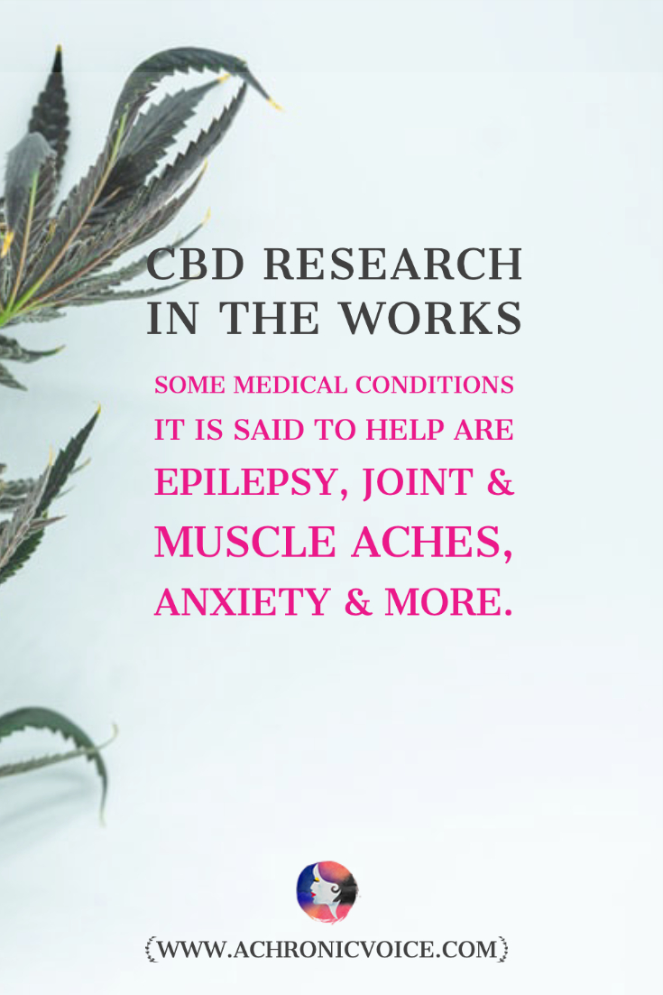 CBD Research in the Works
