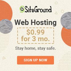 Sign Up for SiteGround - Best Web Hosting I've Tried [Affiliate Link]