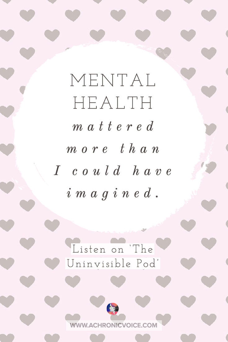 Mental Health Matters Quote