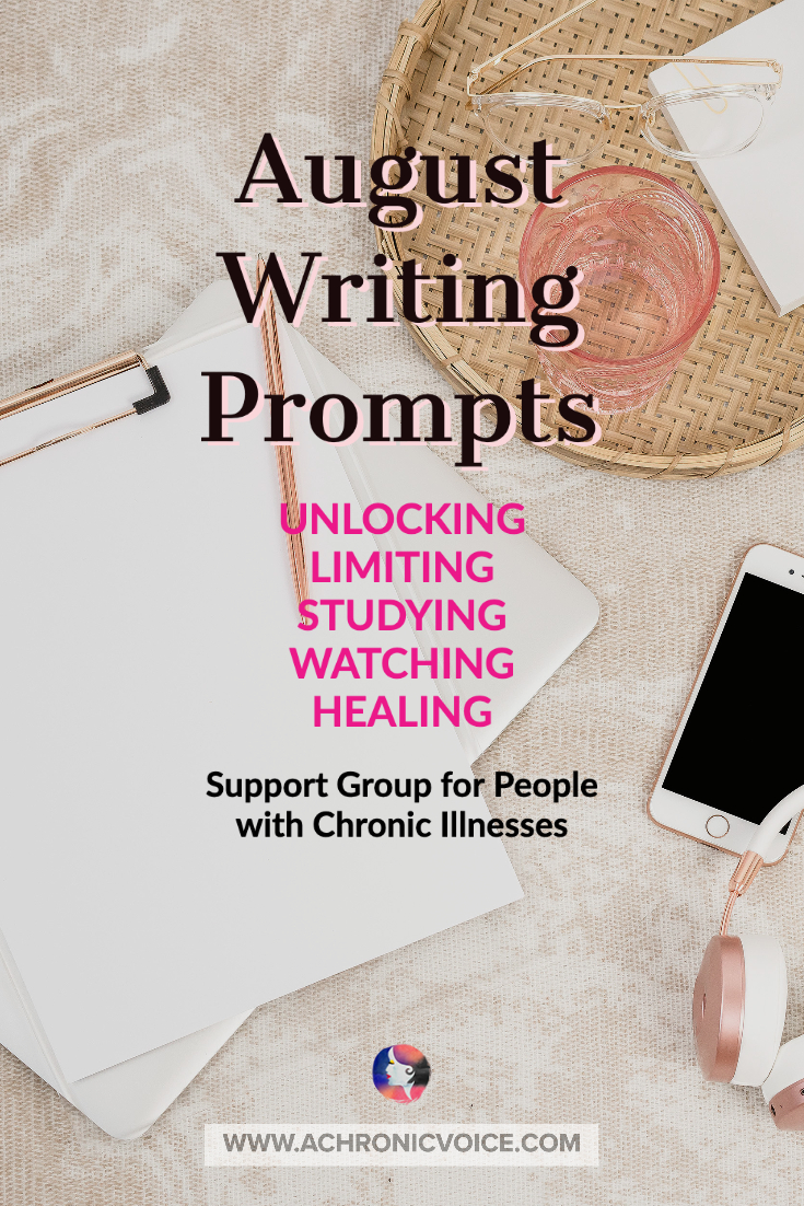 August 2020 Linkup Party for People with Chronic Illnesses | A Chronic Voice