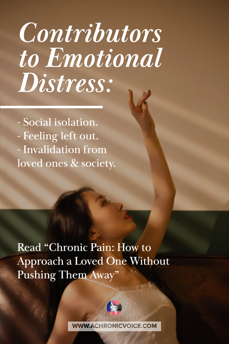 Contributors to Emotional Distress | A Chronic Voice