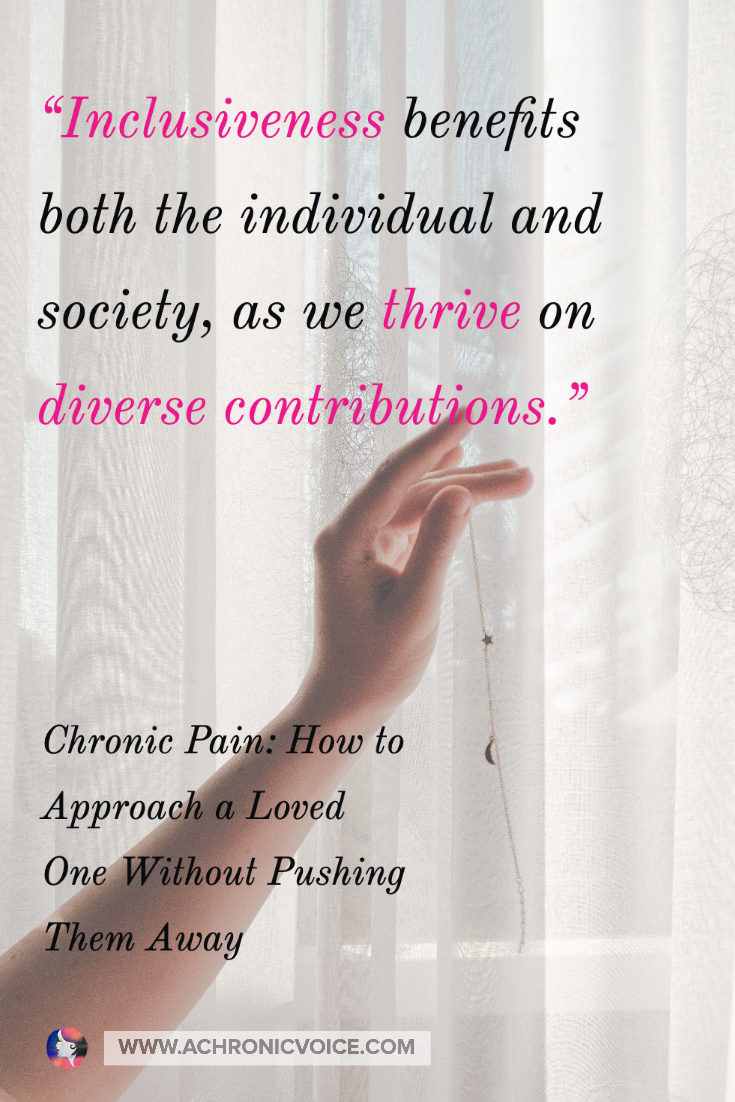 Inclusiveness Benefits the Individual and Society as We Thrive on Diverse Contributions | A Chronic Voice