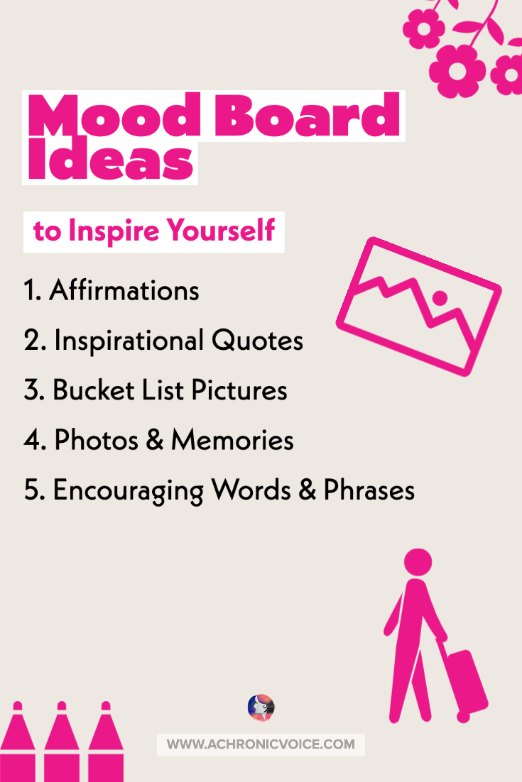Mood Board Ideas Infographic