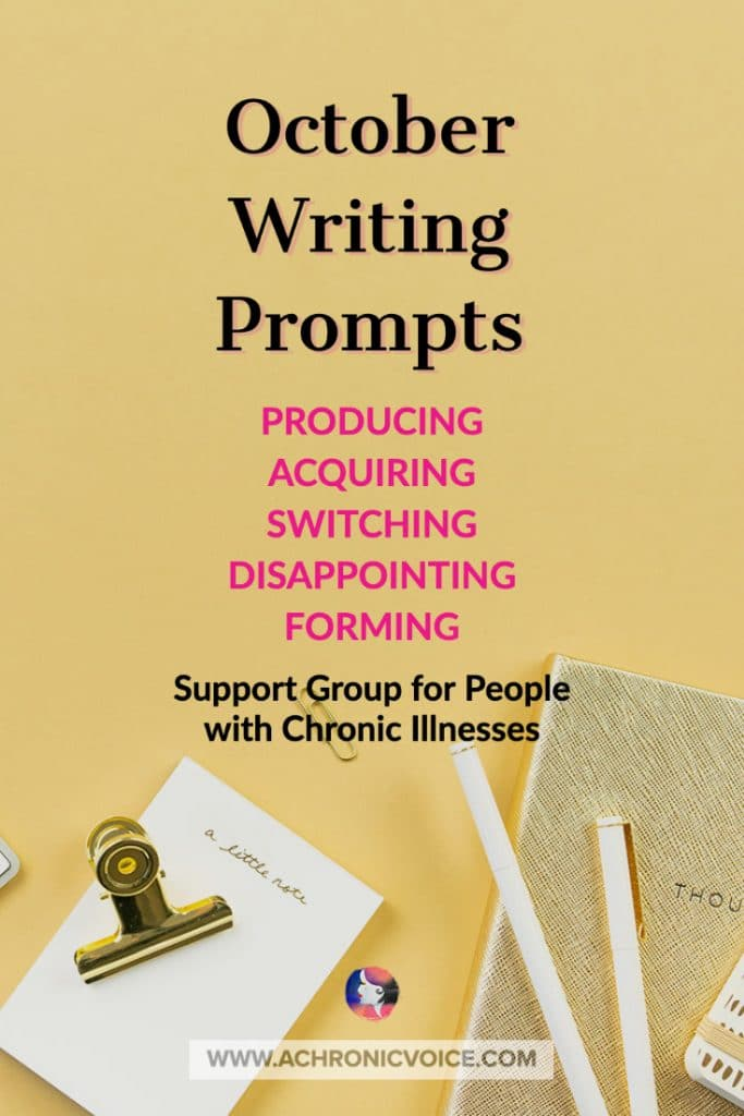 October 2020 Linkup Party for People with Chronic Illnesses   A Chronic Voice