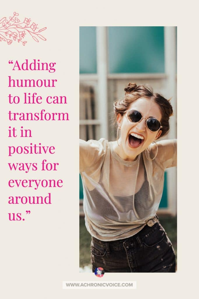 Adding humour to life can transform it in positive ways for everyone around us. It eases the caregivers' roles, and the pain felt by family members and ourselves. I still give credit to cartoons, which lifted my mood during those tough days. #selfcare #chroniclife #copingstrategy