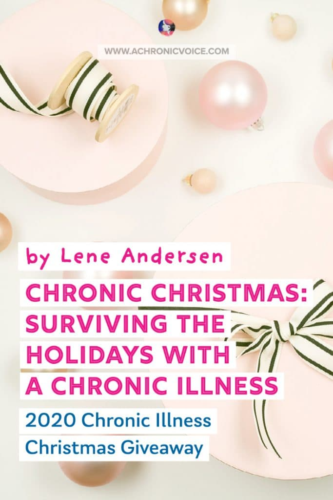 'Chronic Christmas: Surviving the Holidays with a Chronic Illness', is a book all about self-care, both for those with chronic illnesses and their loved ones. The book is filled with wonderful self-care suggestions in the form of an Advent calendar, although the tips can really be kept in mind year round! 3 copies up for grabs in this Christmas Giveaway! #chronicillness #christmas #book