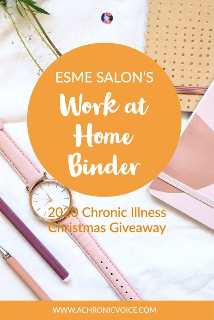 esme salon work at home binder 1