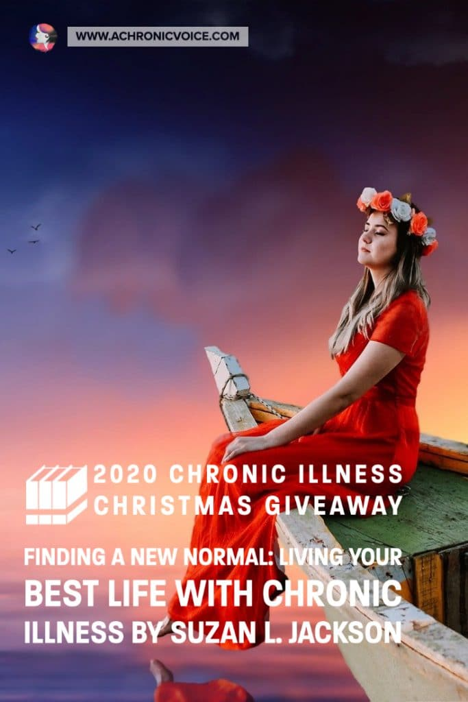 This guide provides inspiration, advice on emotional coping, and guidance on living your best life with chronic illness from someone who's been there for more than 20 years. It focuses not just on enduring your life, but immersing yourself fully in it. Suzan is giving away 3 copies of her book in this Christmas Giveaway! #chronicillness #chronicpain #christmas