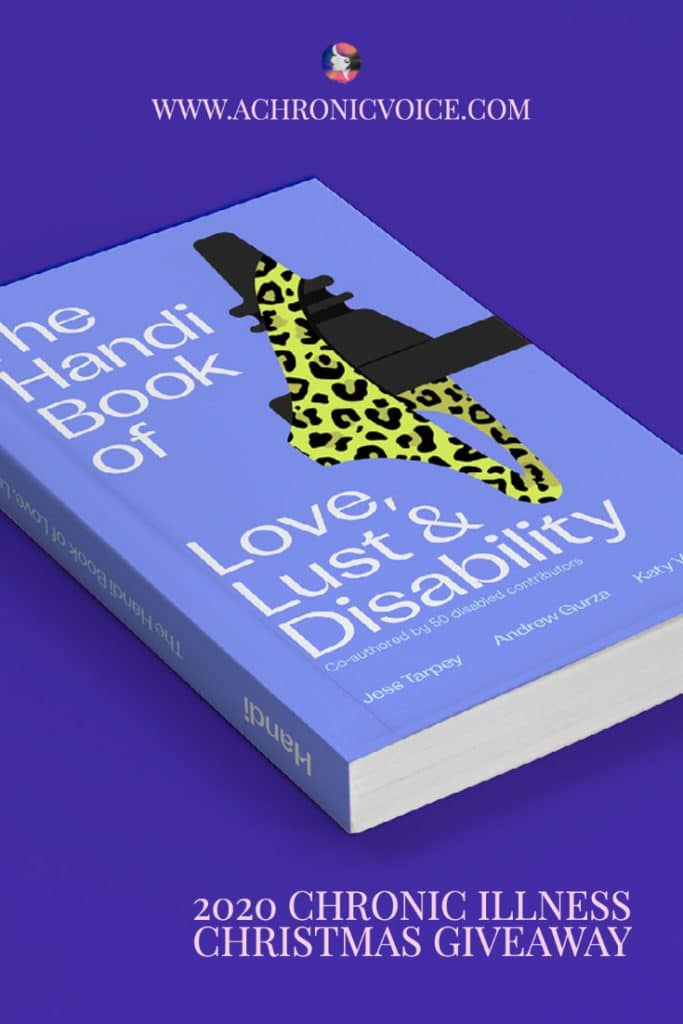 In this Christmas Giveaway That's Handi is giving away 4 copies of 'The Handi Book of Love, Lust & Disability', which opens up conversations and breaks the stigma surrounding sex, relationships and disability. The book is full of beautiful artwork, portraits, stories, poems and more from over 50 disabled and proud contributors. #disability #disabled #sexualhealth