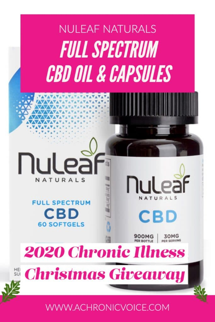 NuLeaf Naturals has been producing high quality CBD products since 2014. They produce full-spectrum CBD Oil using organic hemp, and with no junk added into it. They aim to create premium cannabinoid wellness products that their customers trust. They are giving away these CBD wellness products in the Christmas Giveaway to two lucky winners! #cbdoil #cbd #christmasgiveaway
