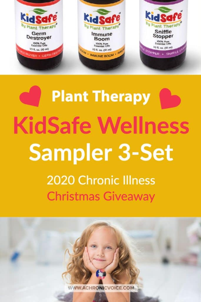 Plant Therapy creates high quality essential oils, CBD, and natural body products. Their KidSafe essential oil blends are meant for children ages 2-10, and were formulated by Robert Tisserand. They are giving away one sampler 3-set in this Christmas Giveaway! #essentialoils #wellness #kidsafe