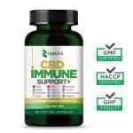 Reakiro CBD Capsules Immune Support 600 mg 60 pcs