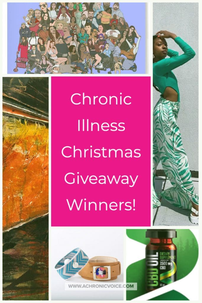 Congratulations to These Participants in the Chronic Illness Christmas Giveaway! | A Chronic Voice