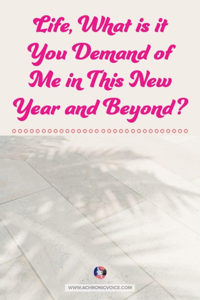 Timeless Duties Toward Life Every New Year