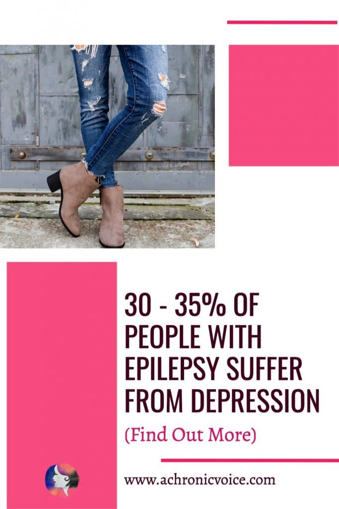 I wrestled with depression for over a year. Research estimates that 30 to 35 percent of people with epilepsy experience depression. Living in constant fear of when the next seizure would strike, and stressed about what my future might look like.