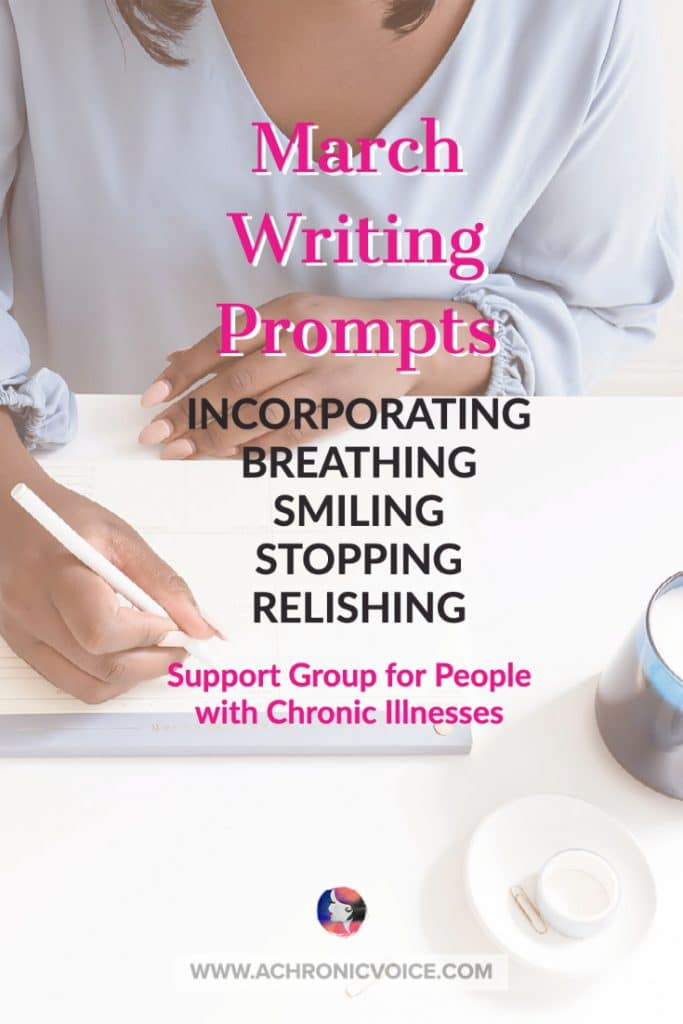 Writing Prompts and Support Group for People with Chronic Illnesses