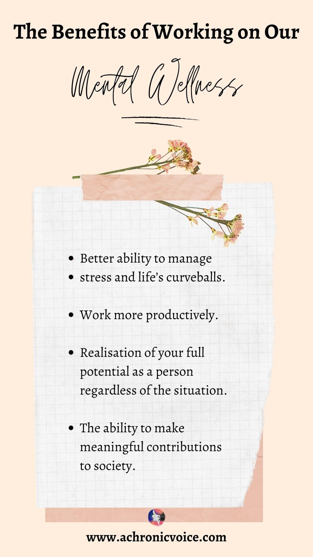 The Benefits of Working on Our Mental Wellness