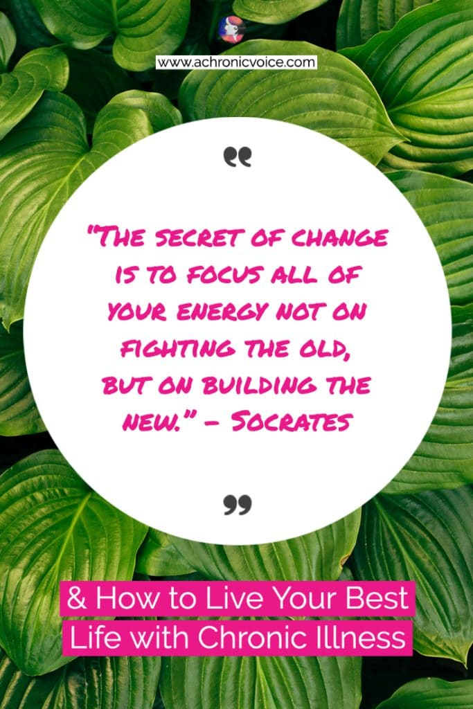 'The secret of change is to focus all of your energy not on fighting the old, but on building the new.' – Socrates Inspirational Quote
