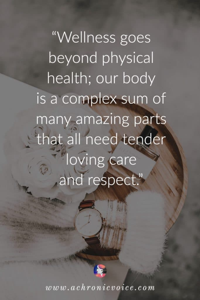 Wellness goes beyond physical health quote