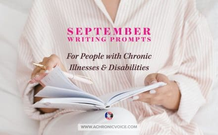 September Writing Prompts for People with Chronic Illnesses & Disabilities